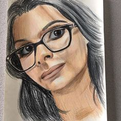 @sssniperwolf Prismacolor drawing! I recorded this for @YouTube too. . . . http://www.youtube.com/adamhiteofficialillustrations . . . #art #arte #artoninstagram #artlover #picoftheday #illustration #illustrated #illustrationart #artworks #artsharing #paint #creative #arts_realistic #instaart #painting #tattoo #ink #freshtattoo #tat #tattoos #sssniperwolf #sniperwolf #drawing #prismacolor #youtube #youtuber #comedy #gaming