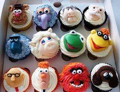 Muppet cupcakes @Ian Pratt