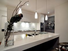 Looking for a new kitchen or simply love admiring pretty kitchen images? We've got collections of fantastic kitchen photos to feast your eyes on. New Kitchen Designs, Kitchen Images, Kitchen Photos, Modern Kitchen Design, Home Decor Kitchen, Kitchen Interior, Home Kitchens, Kitchen Ideas, Nice Kitchen