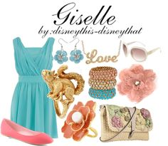 Disney inspired clothing by disneythis-disneythat. Giselle.-- not really my style.. but still cute.