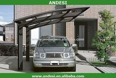 Source New design aluminum carport glass for household on m.alibaba.com