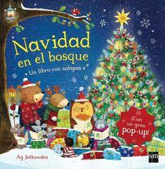 """Ag Jatkowska. """"Navidad en el bosque"""". Editorial SM. (3 a 6 años)."""
