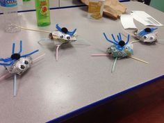 Litter Bug Craft. During our recycling lesson.