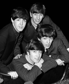 Paul McCartney, Richard Starkey, John Lennon, and George Harrison