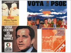 Resumen de carteles de la Transición.