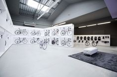 Bike Shop | Retail Design | Sports Equipment | Shop Design | Pave by Joan Sandoval