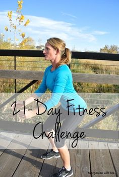 Get your health and wellness plans organized just in time for the holidays with this awesome 21-day Fitness Challenge!!!