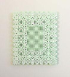 IN MY ROOM • acrylaat, fluoriserende verf • oplage van 10