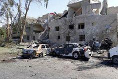 """Car bomb explosions cause multiple deaths: Syrian state TV Sitemize """"Car bomb explosions cause multiple deaths: Syrian state TV"""" konusu eklenmiştir. Detaylar için ziyaret ediniz. http://www.xjs.us/car-bomb-explosions-cause-multiple-deaths-syrian-state-tv.html"""