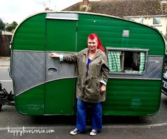 GOODBYE TO OUR VINTAGE CARAVAN AND HELLO NEW HOUSE