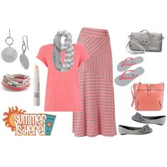 Love the colour combo - scrap the skirt and replace with grey skinny jeans and presto!