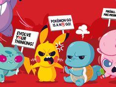 Pokemon No  by Dennis Salvatier #Design Popular #Dribbble #shots
