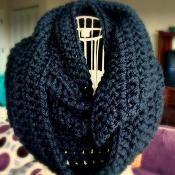 Crochet Infinity Scarf - via @Craftsy