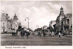 Postcards of the Past - Vintage Postcards of Bucharest, Romania.