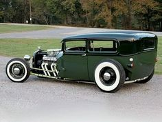 28 ford - not a rat rod but still very nice