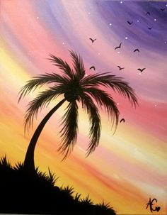 Alisha- Tropical Owl, Tropical, Paintings, Celestial, Sunset, Pretty, Artist, Outdoor, Outdoors