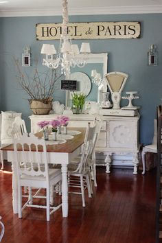 kasey buick's dining room- i so love this