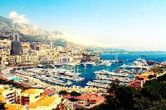 Bahía de la ciudad-estado de Mónaco (Europa)...  #cibervlachoimagenesdelmundo  Visita mi Blog: http://cibervlacho.blogspot.com