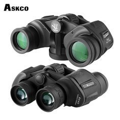 1PC 10x25 portátil HD Super High Power Visión nocturna Telescopio Monocular Mini nos