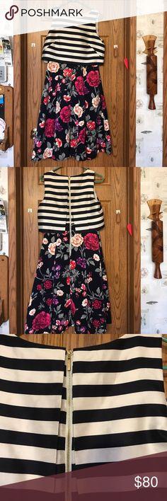 Moulinette Soeurs shift floral dress. Anthropology Moulinette Soeurs shift floral dress. Anthropology dress. HAS POCKETS 😊 like new only worn once. Splint print dress. Anthropologie Dresses Asymmetrical