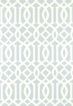 Imperial Trellis is one of the most recognizable wallpaper patterns of the last several years. A quick search on Houzz or Pinterest will net a whole bunch of photos of this pattern in use. If you are