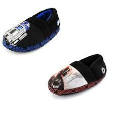 Disney Star Wars Darth Vader A-line Slippers Sublimated graphics; Cushioned foot-bed Soft plush uppers for expected warmth; Textured sole for safety Choose your favorite Disney Star Wars character: Stormtroopers, or Darth Vader Star Wars Kids, Disney Star Wars, Star Wars Characters, Toys For Girls, Kids Boys, Girls Shoes, Fashion Shoes, High Heels, Slippers