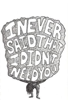 i never said that i didn't need you - new found glory lyrics Music Love, Music Is Life, Lyric Quotes, Art Quotes, Qoutes, Land Of Misfit Toys, Broken Hearted Girl, New Found Glory, Whatever Forever