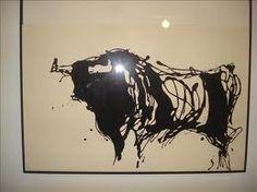 blanco y negro toros -