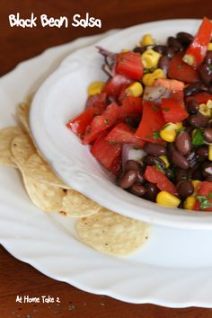 Black Bean Salsa is