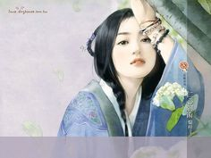 Sweet Charming Ancient Chinese Woman Wallpaper  11