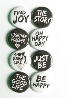 Script Words Flair by aflairforbuttons on Etsy, $6.00 #aflairforbuttons #projectlife