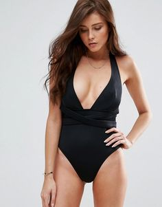 3d0e250522b Discover Fashion Online Tall Swimsuits, Halter Top Swimsuits, Swimsuit  Tops, Black Swimsuit,