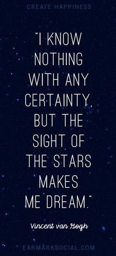 Love staring off to the stars