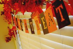 Halloween Paint Chip Garland