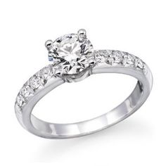 1 ctw. Round Diamond Solitaire Engagement Ring in 14k White Gold (Jewelry)  http://www.amazon.com/dp/B007I00MAS/?tag=iphonreplacem-20  B007I00MAS