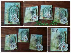 My ATC *Secret Garden* makaart14.blogspot.com