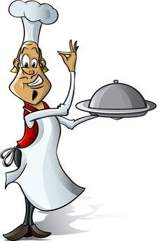 Vector funny chef design graphic set 05 free