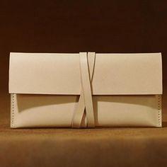 Handmade leather vintage women long wallet clutch phone purse wallet – Annie Jewelry
