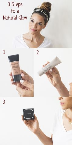 3 easy steps to a natural sun-kissed face without the sun damage! Great post by @inhonorofdesign