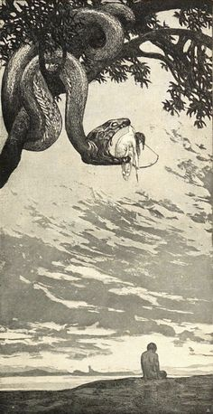 """Radierung von Fritz Hegenbart – 1902 – in """"Arts and Crafts: The Journal of Applied … - kunst illustration"""
