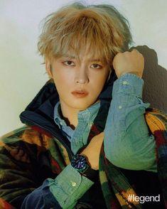 Up close and personal with Korean heartthrob Jaejoong Kim — Hashtag Legend Hero Jaejoong, Khaki Trench Coat, Blue Denim Shirt, Kim Jae Joong, K Pop Star, K Pop Music, Shearling Jacket, Jyj, Tvxq