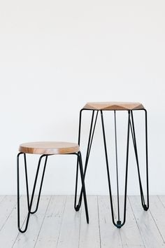 Klein and Rex stools by TUCKBOX