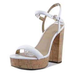 884609d349a Michael Michael Kors Dallas Platform Women US 10 White NWOB 1184 - Save 30  - 75