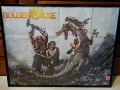 Jeux Atari ST -> Golden Axe