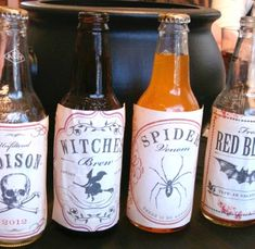 Witches Tea drinks