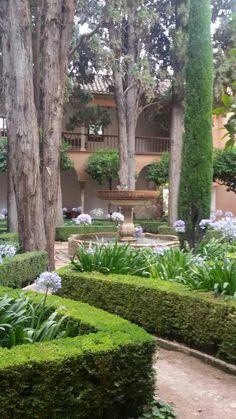 Jardín de la Alhambra