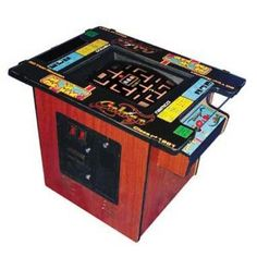 This is a must have for me at some point in life! I frequent places that have this game (specific model irrelevant though, this one is my FAVE) stand-up, sit down doesn't matter to me as long as Pac Man is involved
