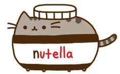 Nutella Pusheen by PicWhateverYouWant on DeviantArt