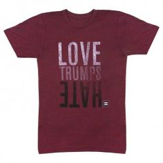 HRC | Human Rights Campaign | Love Trumps Hate T-Shirt 2.0