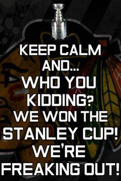 Go Blackhawks!!!